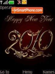 Happy New Year 2014 es el tema de pantalla