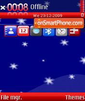 Merry Christmas 16 es el tema de pantalla