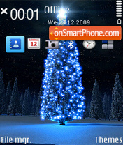 Christmas Night 02 theme screenshot