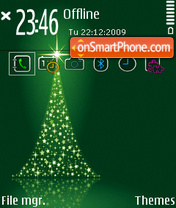 Christmas Tree 04 theme screenshot