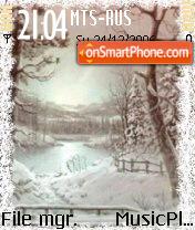 Скриншот темы Winter 2