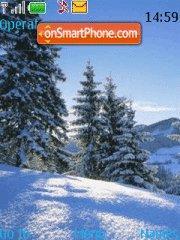 Winter theme theme screenshot
