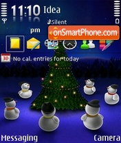 Merry Christmas theme screenshot