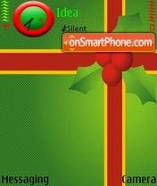Скриншот темы Christmas Gift