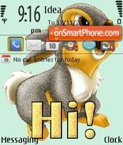 Скриншот темы Funny Bunny