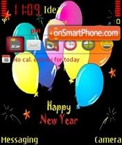 Скриншот темы Happy New Year