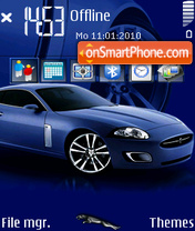 Jaguar lightweight concept theme screenshot