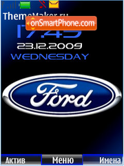 Ford theme screenshot