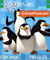 Penguin es el tema de pantalla