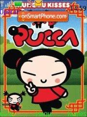 Pucca Theme theme screenshot