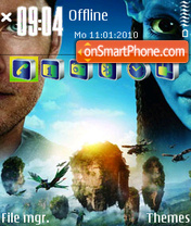 Avatar s603rd theme screenshot