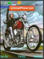 Скриншот темы Bikers
