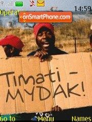 Timati es el tema de pantalla