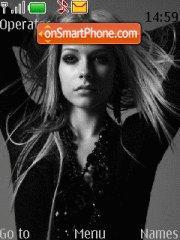 Скриншот темы Avril lavigne