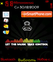 Music Control theme screenshot