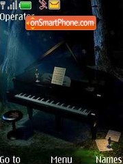 Grand piano es el tema de pantalla