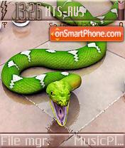 Green Snake es el tema de pantalla