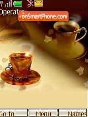 Скриншот темы Coffee
