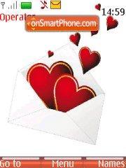 Love Message es el tema de pantalla