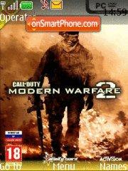 Call of Duty Modern Warfare 2 theme screenshot