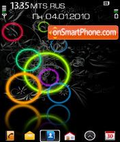 Circles By AltVic theme screenshot