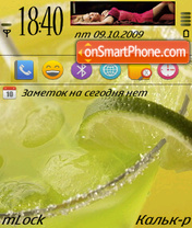 Coctail theme screenshot
