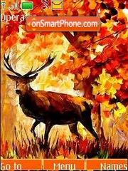 Скриншот темы Deer