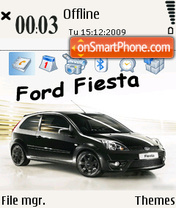 Ford fiesta 01 theme screenshot