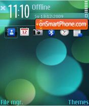 Скриншот темы Technicolo FP1