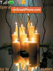 Candles by Lidia theme screenshot