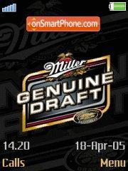 Скриншот темы Miller Genuine Draft