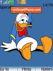 Donald Duck 10 theme screenshot