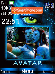 Avatar 03 theme screenshot