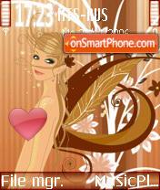 Spring in Heart 2 theme screenshot