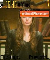 Angelina 10 es el tema de pantalla