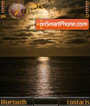 Sunset 10 theme screenshot