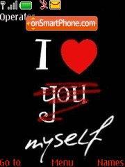 I love myself es el tema de pantalla
