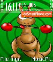 Kangur theme screenshot
