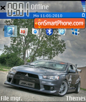 AMS Evo X theme screenshot