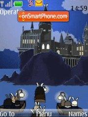 Скриншот темы Harry Potter (with bunnies)