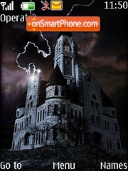 Ghost Castle tema screenshot