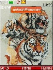 Скриншот темы Tigerrrrrr