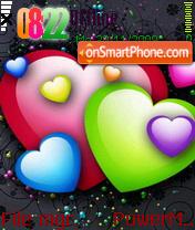 Hearts 04 es el tema de pantalla
