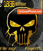 Skull Yellow es el tema de pantalla