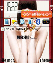 Moschino theme screenshot