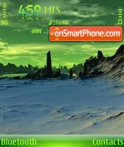 Winter Planet 01 theme screenshot
