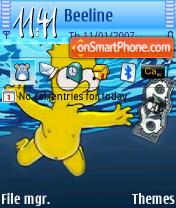 Bart theme screenshot