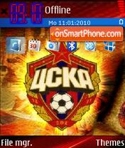 CSKA001 es el tema de pantalla
