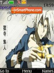 Gokudera Hayato theme screenshot
