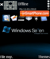 Window Seven theme screenshot